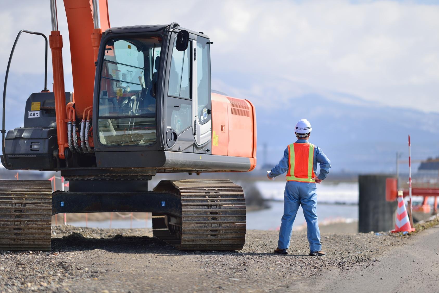 Đơn hàng đặc định lái máy xây dựng tại Fukuoka lương đến 19 man