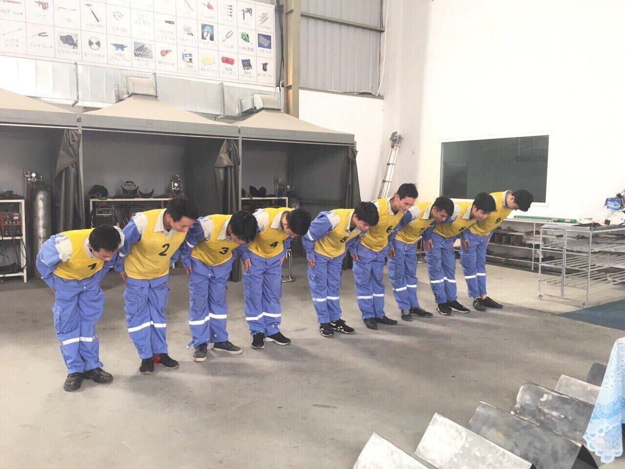 15 nam đơn đặc định dập kim loại tại Aichi