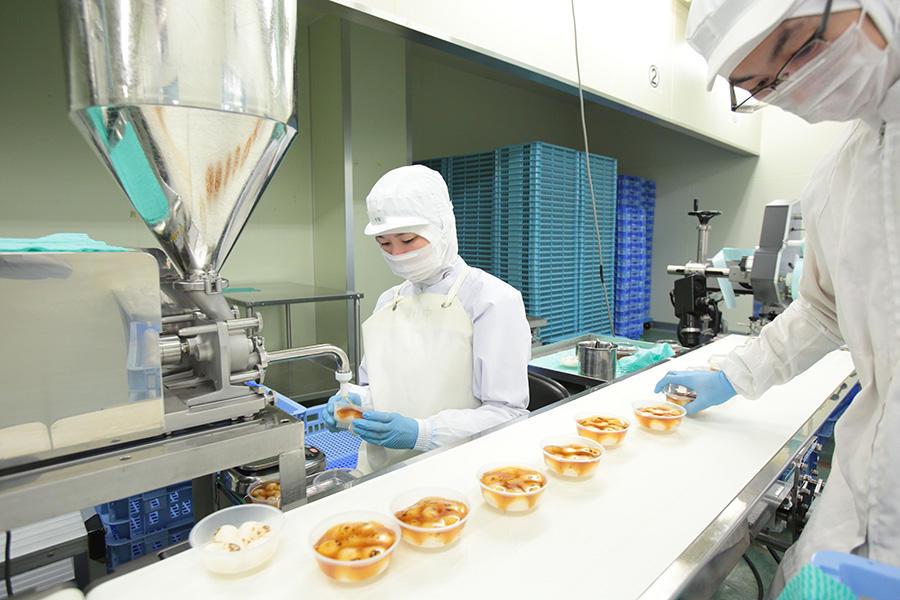 Thực tế công việc chế biến bánh kẹo tại Chiba, Nhật Bản