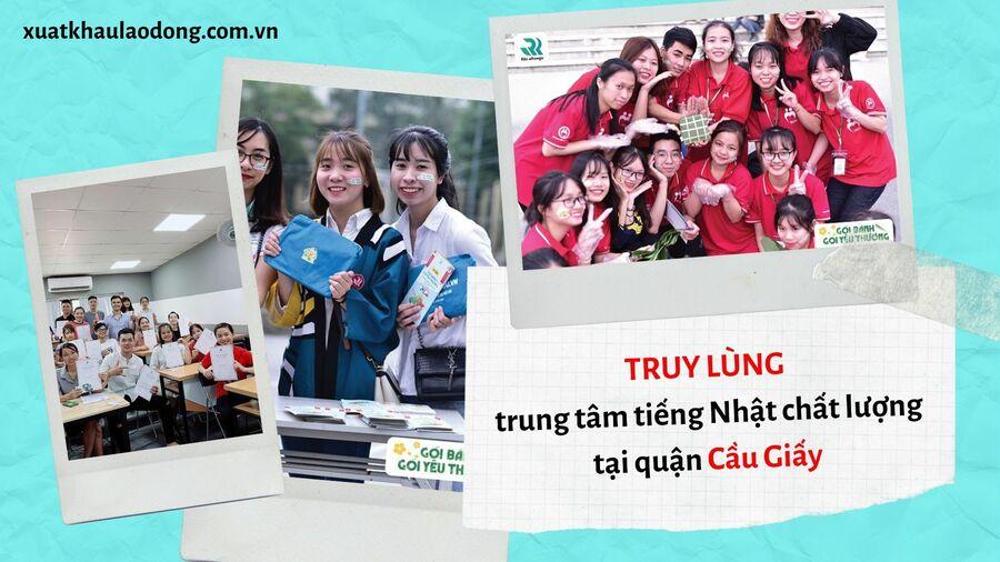 TOP 10 trung tâm tiếng Nhật chất lượng nhất khu vực Cầu Giấy, Hà Nội
