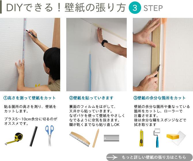 Công việc thực tế đơn hàng dán giấy tường Nhật Bản