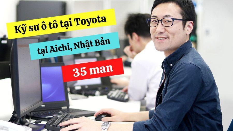 Đơn hàng kỹ sư ô tô chất lượng cao lương 35 man làm việc tại Toyota tỉnh Aichi