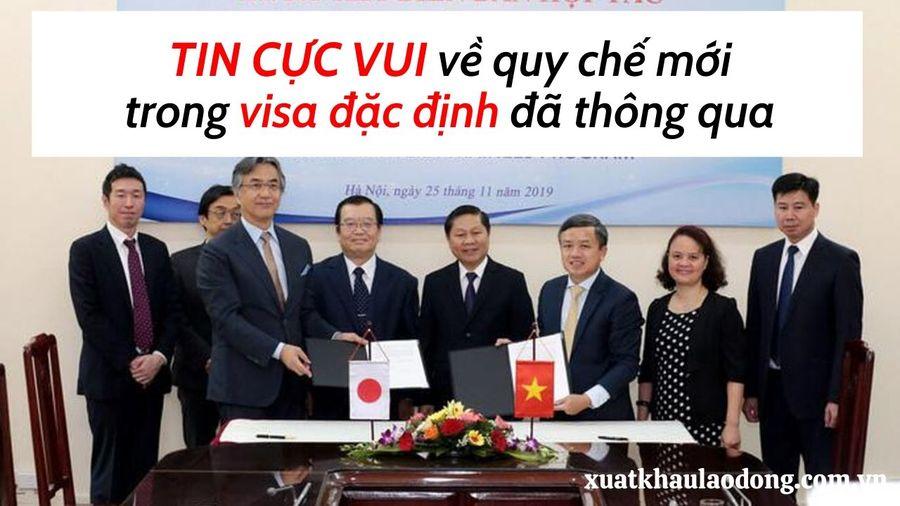 6 TIN VUI trong quy chế mới của visa đặc định tokutei cực kỳ quan trọng!