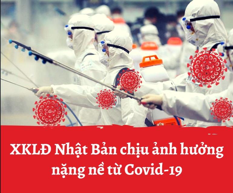 Xuất khẩu lao động Nhật Bản chịu ảnh hưởng nặng nề từ dịch Covid-19