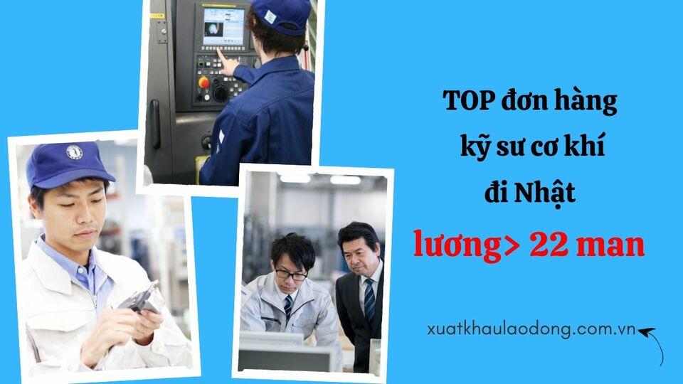 10 đơn hàng kỹ sư cơ khí đi Nhật  HOT NHẤT đang tuyển tháng 07/2020