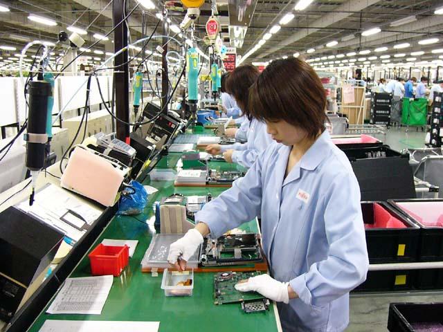 6 Nữ làm điện tử tại Gifu tháng 12/2013