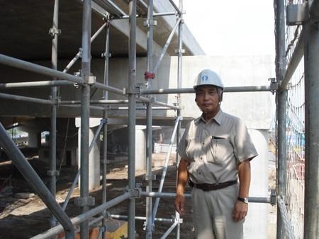 8 Nam làm dàn giáo tại Saitama 6/2013