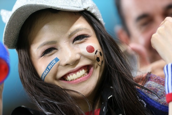 Cổ động viên Nhật Bản tại VCK World Cup khiến cả thế giới nể phục
