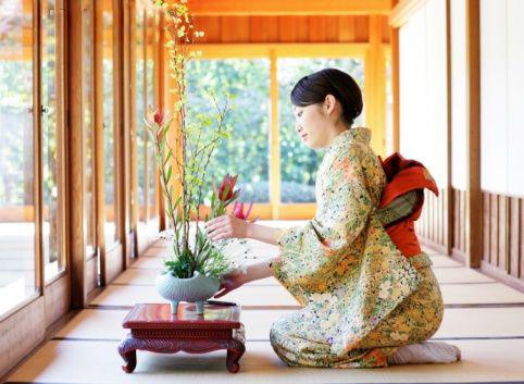 Nghệ thuật cắm hoa Ikebana của Nhật Bản